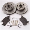 SSBC A2351002 - Stainless Steel Brakes Short Stop Rotor and Pad Upgrade Kits