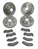 SSBC A2351022 - Stainless Steel Brakes Short Stop Rotor and Pad Upgrade Kits