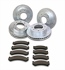 SSBC A2351027 - Stainless Steel Brakes Short Stop Rotor and Pad Upgrade Kits