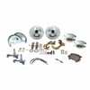 SSBC W123-3A - Stainless Steel Brakes At The Wheels SuperTwin Front 2-Piston Drum to Disc Brake Conversion Kits