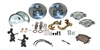 SSBC W123DS - Stainless Steel Brakes At-the-Wheels Single Piston Drum-to-Disc Brake Conversion Kits