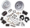 SSBC W156-6 - Stainless Steel Brakes Competition 4-Piston Front Disc Conversion Kits