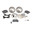 SSBC A126-8 - Stainless Steel Brakes Single Piston Front Drum-to-Disc Brake Conversion Kit