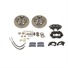 SSBC W120 - Stainless Steel Brakes Cast Iron Front 4-Piston Drum to Disc Brake Conversion Kit