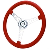Flaming River FR20152RE - Flaming River Leather Corvette Steering Wheel