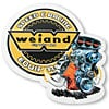 Weiand 10001 - Holley High Performance Brands Metal Garage Signs