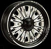 Weld Racing R54B6060E35A - Weld Racing Forged R54-Series Black Trailer Wheels