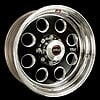 Weld Racing T50B7100E48A - Weld Racing Forged T50-Series Black Truck Wheels