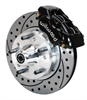 Wilwood 140-11023-D - Wilwood Forged Dynalite Front Hub Brake Kits