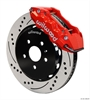 Wilwood 140-11269-DR - Wilwood Superlite 6 Big Brake Front Hat Kits