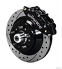 Wilwood 140-12274-D - Wilwood Narrow Superlite 6R Front Brake Kits (Hub & 1-Piece Rotors)