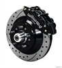 Wilwood 140-12272-D - Wilwood Narrow Superlite 6R Front Brake Kits (Hub & 1-Piece Rotors)