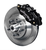 Wilwood 140-12272 - Wilwood Narrow Superlite 6R Front Brake Kits (Hub & 1-Piece Rotors)