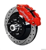 Wilwood 140-12274-DR - Wilwood Narrow Superlite 6R Front Brake Kits (Hub & 1-Piece Rotors)