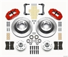 Wilwood 140-12278-R - Wilwood Narrow Superlite 6R Front Brake Kits (Hub & 1-Piece Rotors)