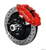 Wilwood 140-12280-DR - Wilwood Narrow Superlite 6R Front Brake Kits (Hub & 1-Piece Rotors)