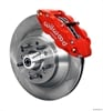 Wilwood 140-12280-R - Wilwood Narrow Superlite 6R Front Brake Kits (Hub & 1-Piece Rotors)
