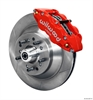 Wilwood 140-12282-R - Wilwood Narrow Superlite 6R Front Brake Kits (Hub & 1-Piece Rotors)