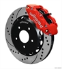 Wilwood 140-12440-DR - Forged Narrow Superlite 4R Jeep JK Big Brake Kits