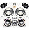 Wilwood 140-12589 - Wilwood Dynapro Low-Profile Rear Parking Brake Kits