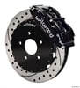 Wilwood 140-12789-D - Wilwood Narrow Superlite 6R Front Brake Kits (Hub & 1-Piece Rotors)