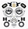 Wilwood 140-12922 - Wilwood Forged Dynalite Front Hub Brake Kits