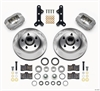 Wilwood 140-13028 - Wilwood Forged Dynalite Front Hub Brake Kits