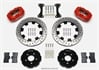 Wilwood 140-6376-DR - Wilwood Dynalite Big Brake Front Hat Kits