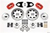 Wilwood 140-7017-DR - Wilwood Dynalite Big Brake Front Hub Kits