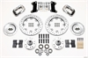 Wilwood 140-7675-ZP - Wilwood Dynalite Big Brake Front Hub Kits