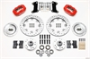 Wilwood 140-7675-ZR - Wilwood Dynalite Big Brake Front Hub Kits