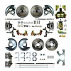 Right Stuff AFXDC41D - Right Stuff 4 Wheel Disc Brake Conversion Kits