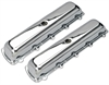 Trans Dapt 9381 - Trans Dapt Performance Products Chrome Plated Steel Valve Covers