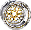 Weld-Racing-Magnum-Import-Drag-Gold-Wheels