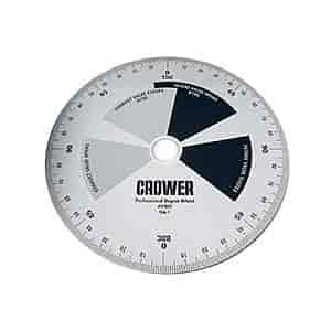 Crower 87602 - Crower Degree Wheel