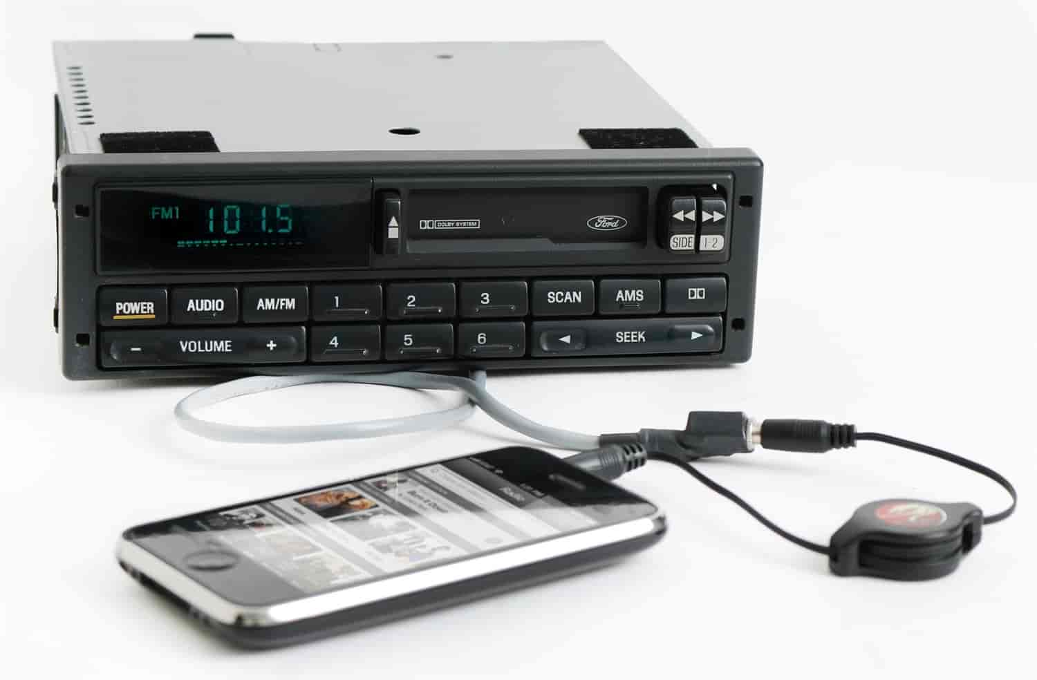 1 Factory Radio Replacement Radio w/Auxiliary Input for 1994-2000 Ford  Mustang