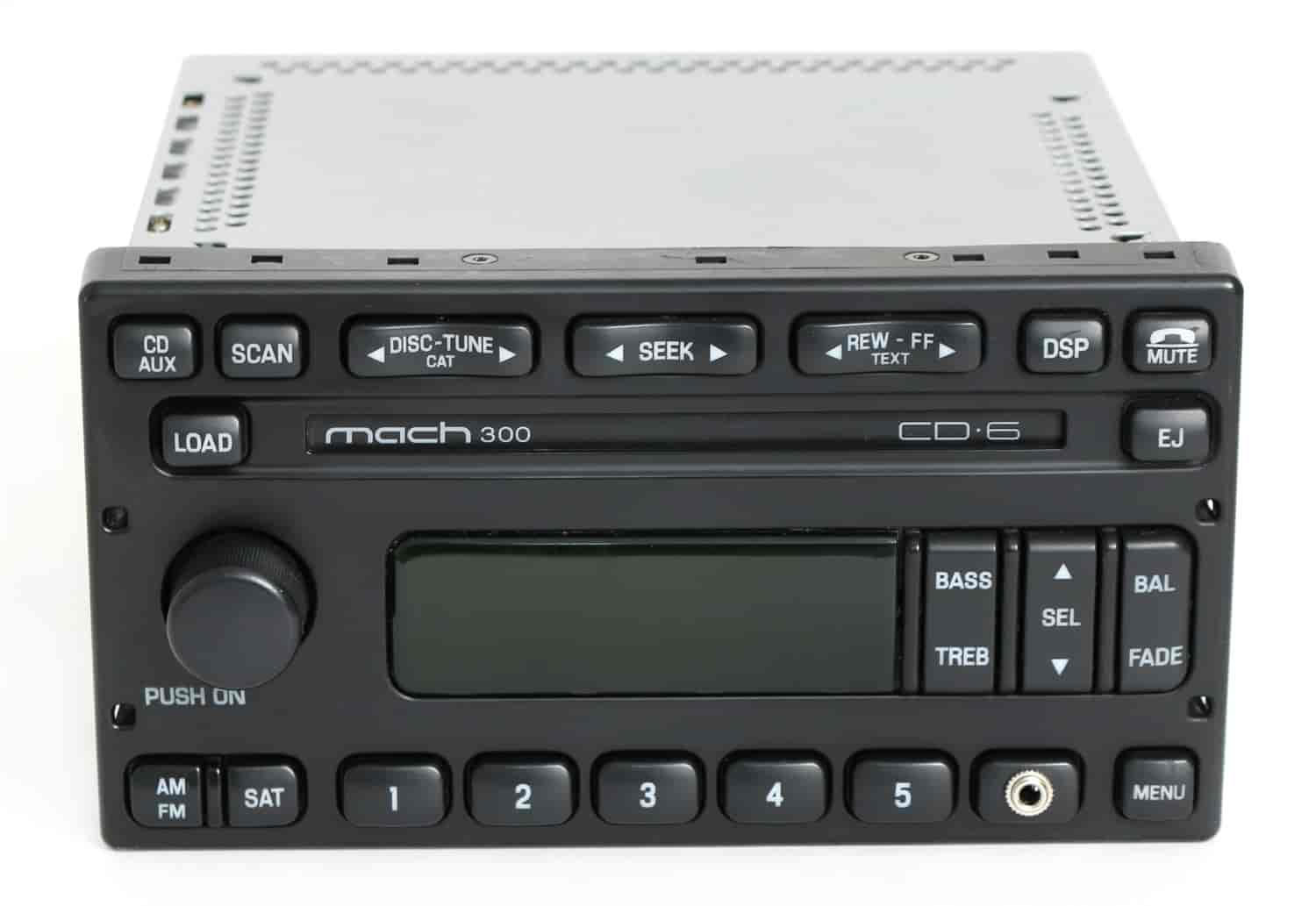 W Auxiliary Input For 2005 2007 Ford Escape Mercury Mariner 1 Factory Radio 63801803a