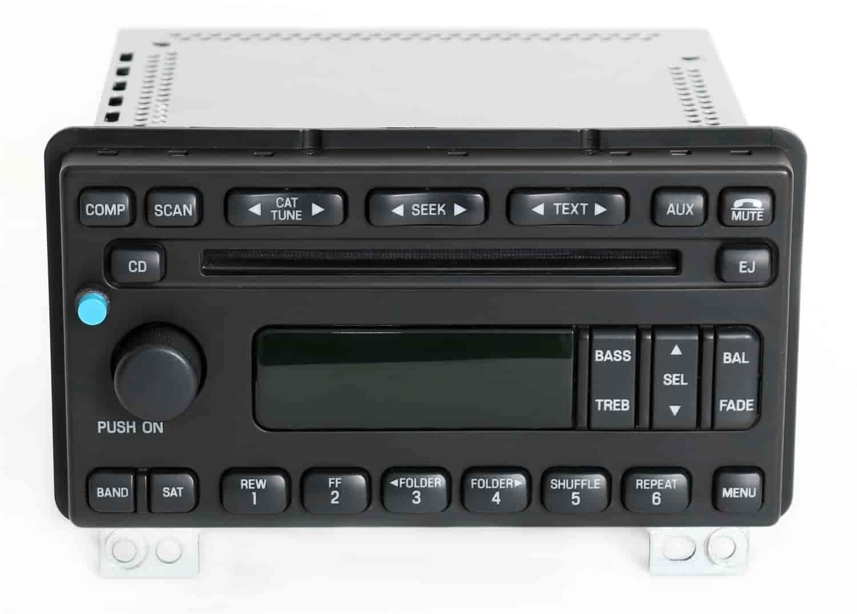 2005 ford explorer radio replacement