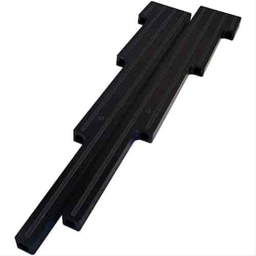 BILLET SPEC BLK69529 Black Wire Looms Universal Plain