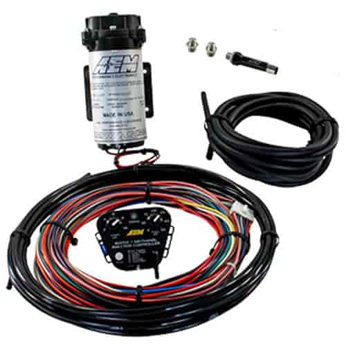 AEM V2 Water/Methanol Nozzle And Controller Kit Includes: Standard Aem Water Methanol Wiring Harness on