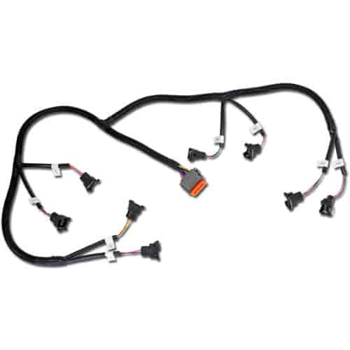 AEM Infinity Universal V8 Accessory Wiring Harness GM Injector Adapter on