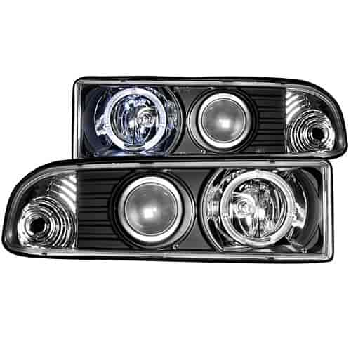 Anzo 111015 - Anzo Black Headlights