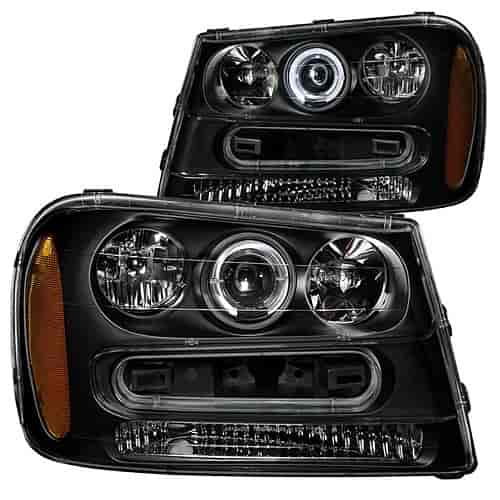 Anzo 111019 - Anzo Black Headlights