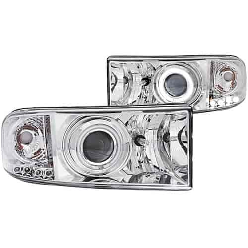 Anzo 111056 - Anzo Chrome Headlights