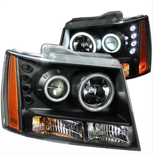 Anzo 111109 - Anzo Black Headlights