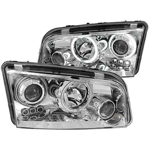 Anzo 121217 - Anzo Black Headlights