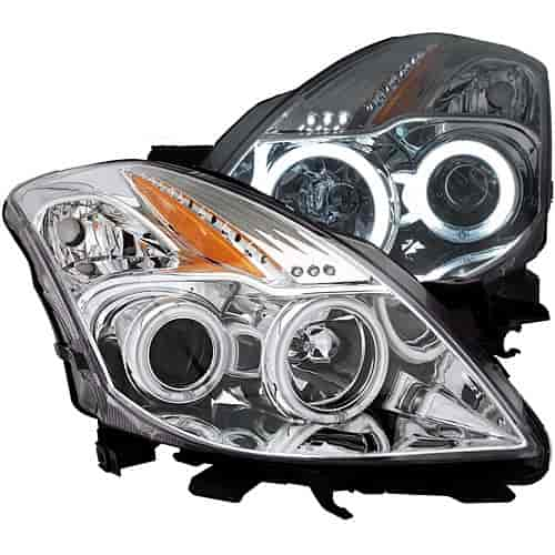 Anzo 121396 - Anzo Chrome Headlights
