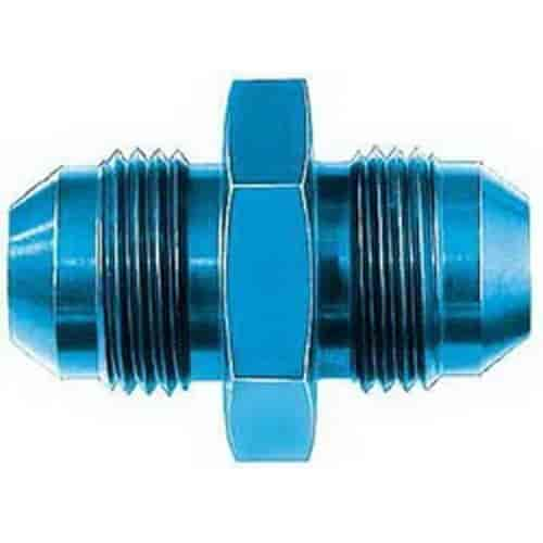 6 AN Male Union Adapter Earl/'s Performance 981506ERL Earls 981506 Blue Anodized Aluminum