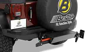 Bestop 42909-01 - Bestop HighRock 4 x 4 Rear Bumpers