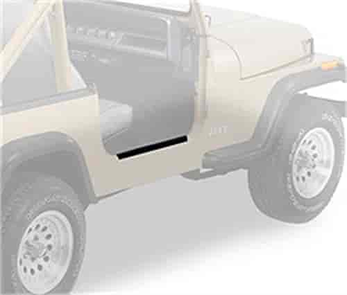 Bestop 51051-01 - Bestop HighRock 4x4 Entry Guards